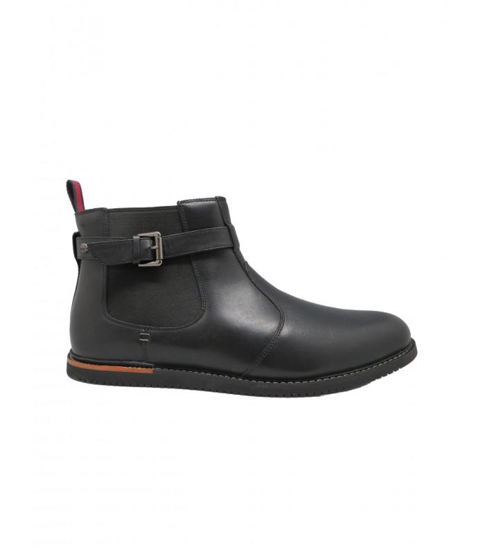 botín negro - 15518A