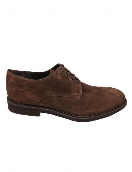 Zapato ante marrón 717344M