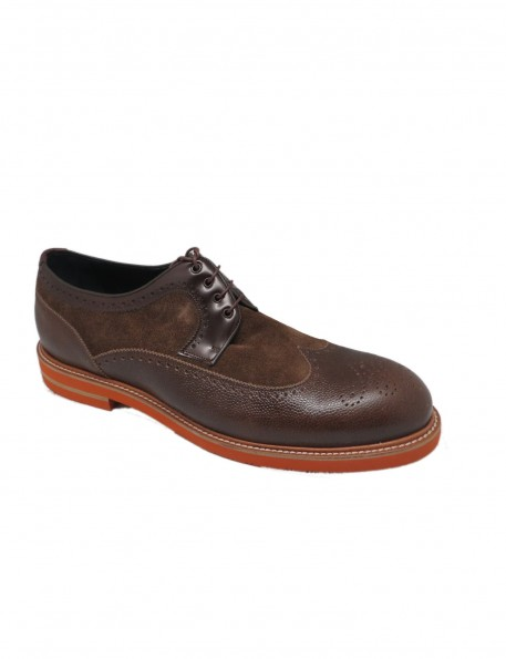 zapato marrón - 676331
