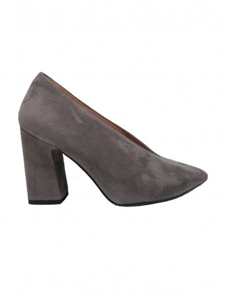 zapato ante gris