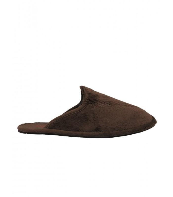 zapatilla marrón