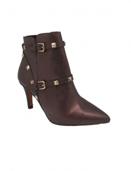 botín mordoré marrón