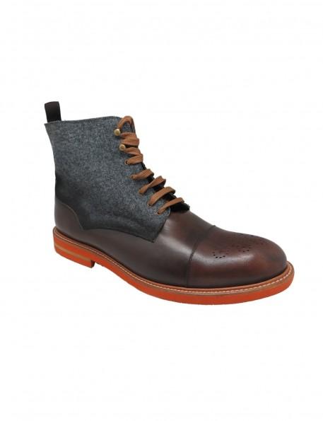 botín marrón - 675968